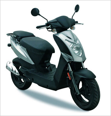 Kymco Agility 50 Review - Scooter Focus - All about Scooters