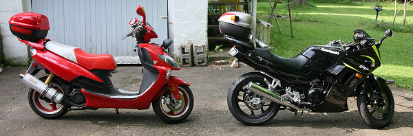 Scooter or Motorcycle? Which is right for you? - Scooter